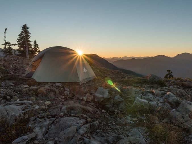 camping-kings-peak-sunset